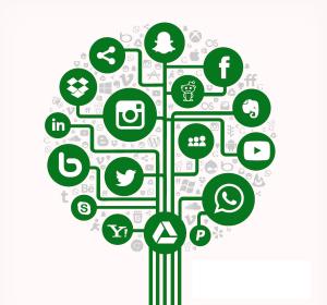 Sociale media boom