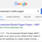 accelerated mobile pages - SEO Trends 2018